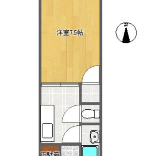 ㌀ 🐶×🐈もOK。事務所使用も可。アパート・パークサイド津留205号室