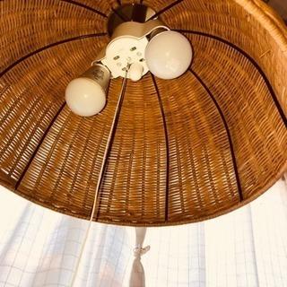 シーリングライト 藤編みシェード  小型天井照明器具 和風 インテ...