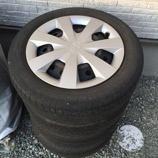 25年式ムーブコンテ純正タイヤ