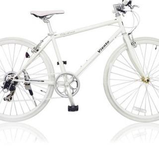 街乗り、通学、通勤に大人気の7段変速クロスバイク