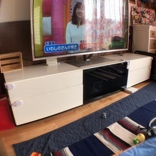 テレビボード 大型テレビ対応