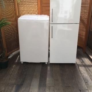 大人気お洒落デザイン☆無印良品♡冷蔵庫&洗濯機セット♡