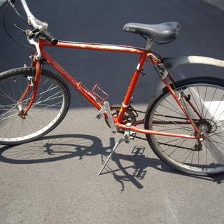 修正しました!クロスバイクです。