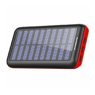 KEDRON モバイルバッテリー ソーラーチャージャー 24000...