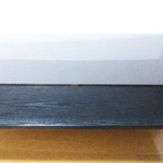 オシャレなガラステーブル1100×600×400