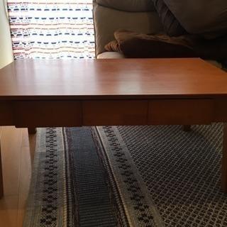 リビングテーブル 茶色