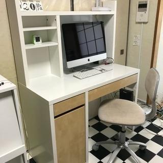 イケア MICKE パソコンデスク...