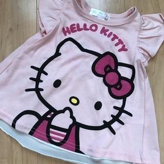 【新品】80 半袖 Tシャツ キティ