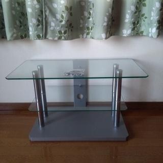 テレビ台 ガラス製