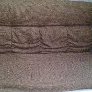 ローソファーのかわりにも★二人掛け座椅子