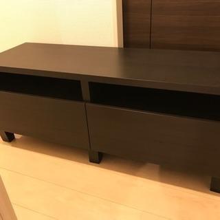 IKEA テレビ台 ブラウン