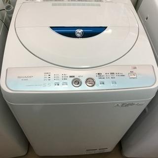 12年製 シャープ 5.5キロ全自動洗濯機 Ag除菌、防臭機能付き...