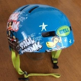 子ども用ヘルメット  ブルー