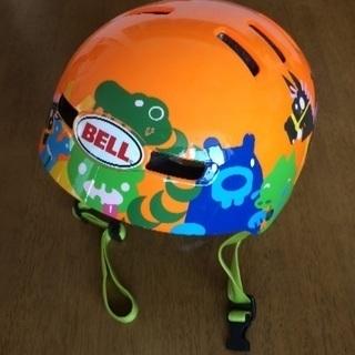子ども用ヘルメット  オレンジ
