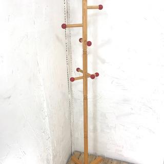 新春セール開催!木製ポールハンガー