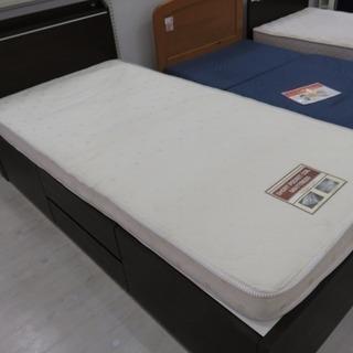 取りに来れる方限定!ニトリの収納付シングルベッド!