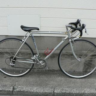 ニシキ クロモリフレーム ロードバイク 売ります。