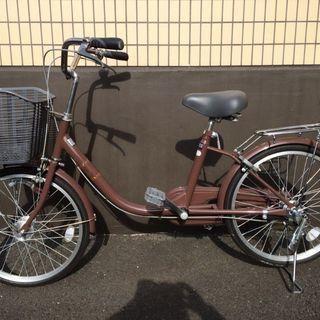 自転車☆20インチ ブラウン