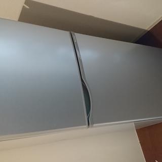 シャープ製 2ドア冷蔵庫 SJ-H12Y (118L, 2年間使用)