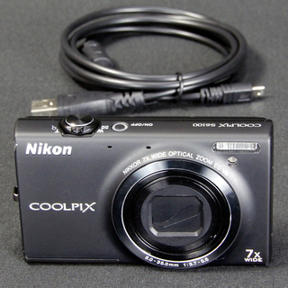 NikonデジタルカメラCOOLPIX S6100 1600万画素 タッチスクリーン Used