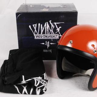 BEETLE WANDERERZ 500-TX ヘルメット オレン...