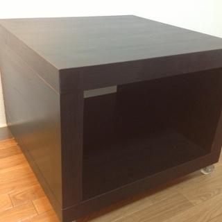 【交渉中】ワンコイン!!超美品!!【IKEA  キャスター付きロー...