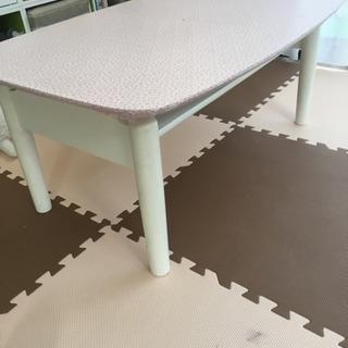 訳あり家具   グラつくローテーブル