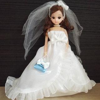 リカちゃん~ウエディングドレス