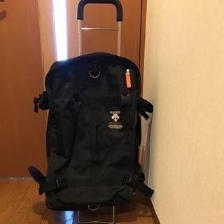 【DESCENTE】遠征バッグ スキーバッグ キャリー付き