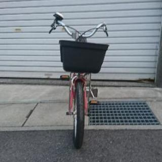 子供用自転車 補助輪あり 無印良品 赤 16インチ - 自転車