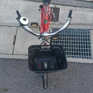 子供用自転車 補助輪あり 無印良品 赤 16インチ - 売ります・あげます