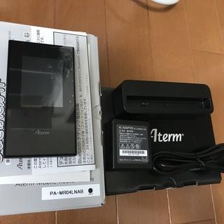 【極美品】SIMフリー モバイルルーター Aterm MR04L...