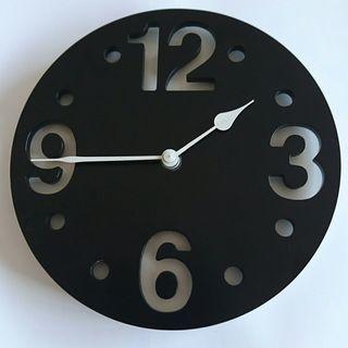 メルクロス モノクロ 壁掛け時計
