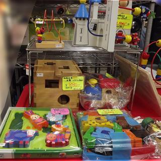 木のおもちゃ 【買取り☆販売】アウトレットモノハウス西岡店!