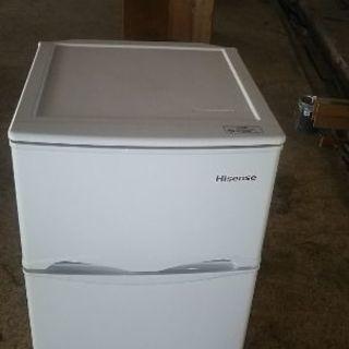 【商談中】冷凍冷蔵庫Hisense 2016年製
