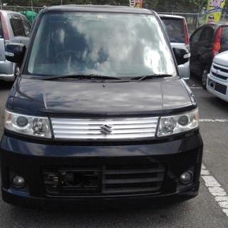 ターボ車😉H19年😉ワゴンR スティングレーT😉MH22S😉黒😉8...