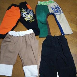 ズボン 90・80 (冬もの4枚セット)