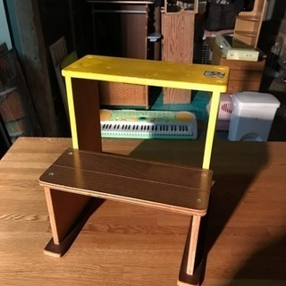 子供の椅子 踏み台 花台 飾り台