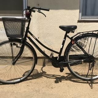 26インチ 黒 自転車