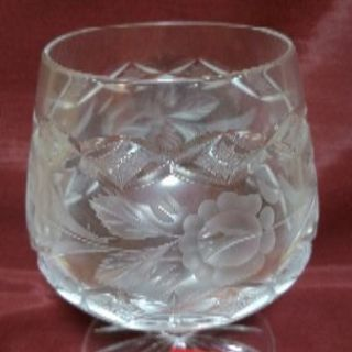 ハンガリー製 ブランデーグラス 1個