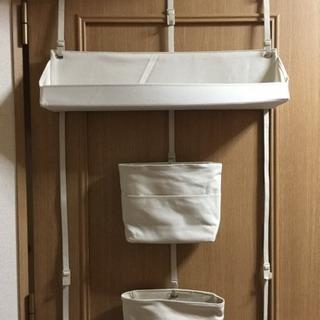 無印良品の扉に付けられる収納 3点と専用フック