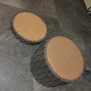 ニトリで買った椅子2個