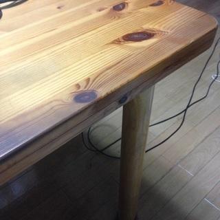 木製のテーブル差し上げます