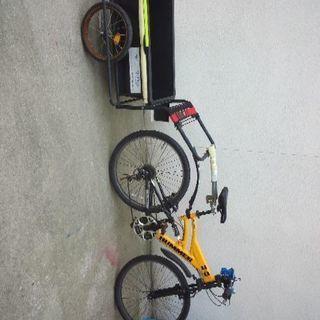 サイクルトレーラー制作します。