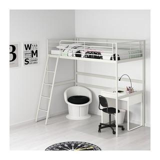 IKEA ロフトベッド白