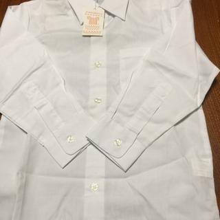 長袖カッターシャツ120 と白靴下セット 未使用品