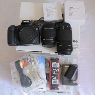 Canon キャノン 70D ダブルズームキット