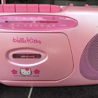キティちゃん☆ラジオカセットプレーヤー