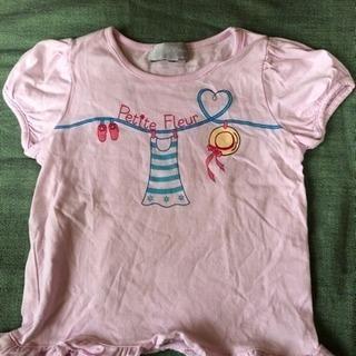 ☆☆  Petite Fleur  Tシャツ  (110)☆☆