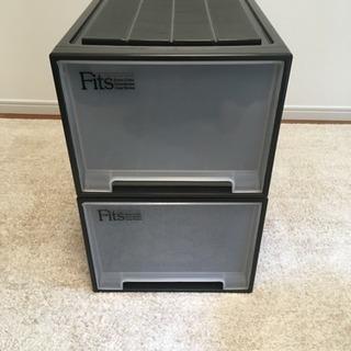 Fits フィッツケース 390×740×300 2個セット